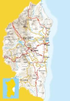 Ogliastra Cartina Geografica.Ogliastra Turismo Cartine Dell Ogliastra